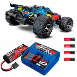 Kombo-pakke 3s / 11.1v RUSTLER 4X4 VXL 1/10 m. batterier og lader