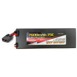 LiPo 3s 11,1V 7600mAh 75c - TRX stik - Hardcase