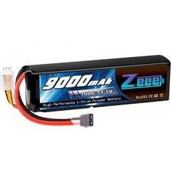 LiPo 3s 11.1V 9000mAh 100c med XT60 stik