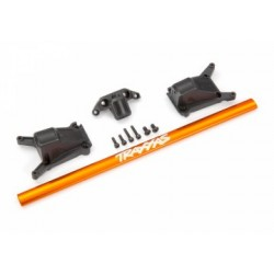 Traxxas 6730A - Chassis Brace Kit Alu Orange