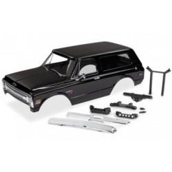 Traxxas 9112X - Body Chevy Blazer 69 Black Complete