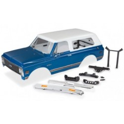 Traxxas 9111X - Body Chevy Blazer 72 Blue/White Complete