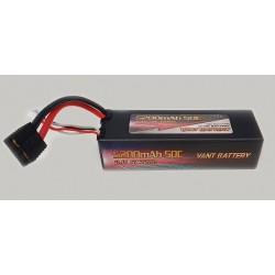 LiPo batteri 3s 11,1v 5200mah 50c Traxxas stik Hardcase