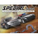 Special 504 - Racerbane med 2 biler - LED lys!