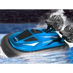 Sejt lille nemt fjernstyret luftpudebåd / Hovercraft!