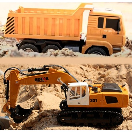 Grave-tilbudspakke med gravko og lastbil med tiplad - tilbud!