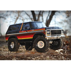 TRX-4 Tactical Unit Trail Crawler RTR Red