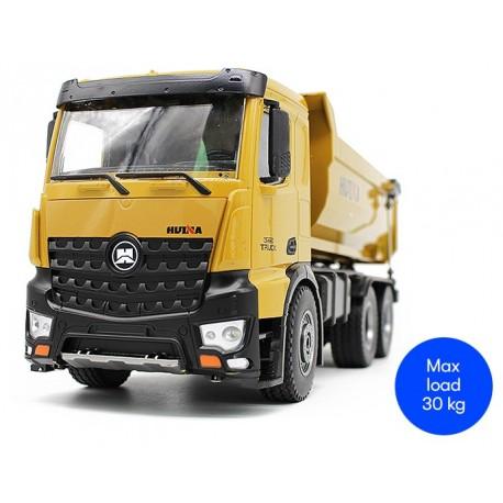 Super smart fjernstyret lastbil med tiplad - huina 1573