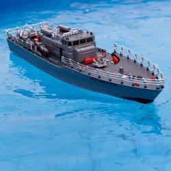 Stor fjernstyret torpedobåd
