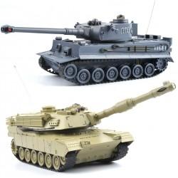 2 fjernstyrede kampvogne - nedKÆMP hinanden!
