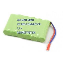 NiMh batteri 400mAh 7.2V - ekstra batteri til f.eks. Huina