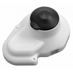 RPM Gear Cover RC10 Classic Dyable White - 70081