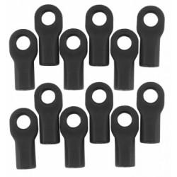 RPM Rod Ends Short Black (12) Traxxas (5347) - 80472