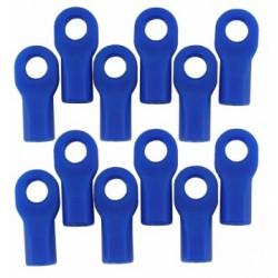 RPM Rod Ends Short Blue (12) Traxxas (5347) - 80475