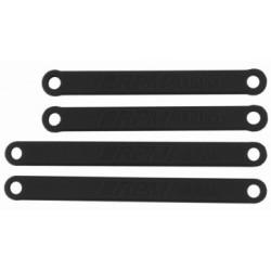 RPM Camber Links HD Set Black Rustler, Stampede - 2WD - 81262