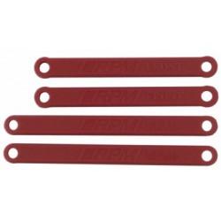 RPM Camber Links HD Set Red Rustler, Stampede - 2WD - 81269