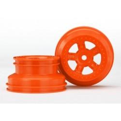 Traxxas 7673A Wheel SCT Orange LaTrax PreRunner (2)