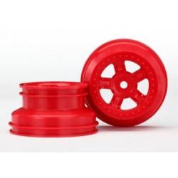 Traxxas 7673R Wheel SCT Red LaTrax PreRunner (2)