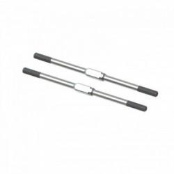 ARRMA Steel Turnbuckle M4x95mm Silver (2) EXB