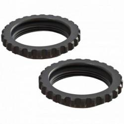 ARRMA Shock Collar Aluminum Black (2) 6S