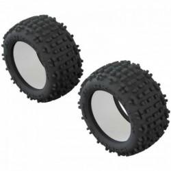ARRMA 1/10 dBoots Backflip LP Front/Rear 3.8 Tire & Inserts (2)