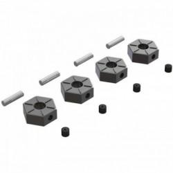 ARRMA Wheel Hex Metal 12mm (4)