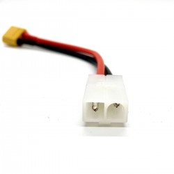 XT60 male to Tamiya female cable 100mm