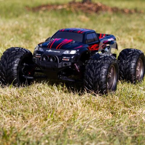 HURTIG Fed fjernstyret bil - Wild Challenger monster truck