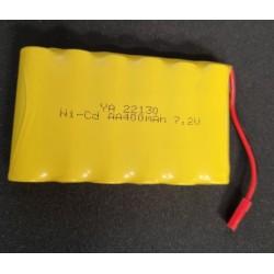 NiMh batteri 7,2V 400mah JST stik - Huina