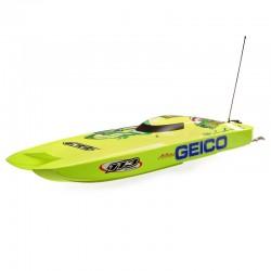 Miss GEICO Zelos 36 Twin Brushless Catamaran
