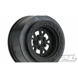 """Proline Wheels Pomona Drag Spec 2.2""""/3.0"""" Black Rear (2) Slash"""