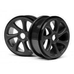 HPI-101371 - Black Turbine Wheels Pr