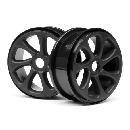 HPI-101371 - Black Turbine Wheels Pr