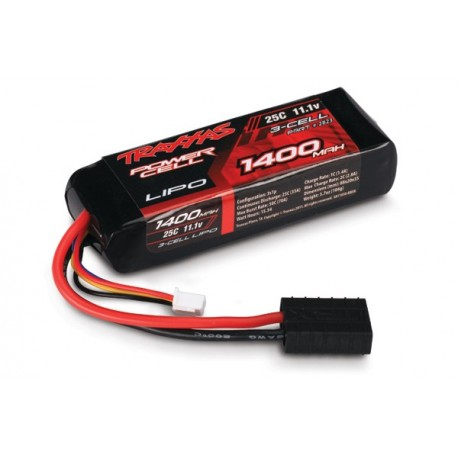 Traxxas 2823 1400mah 11.1v 3-Cell 25C LiPO Battery