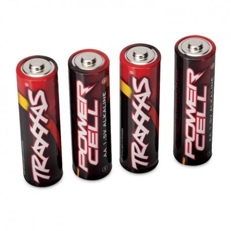 Traxxas 2914 Battery, Power Cell AA Alkaline (4)