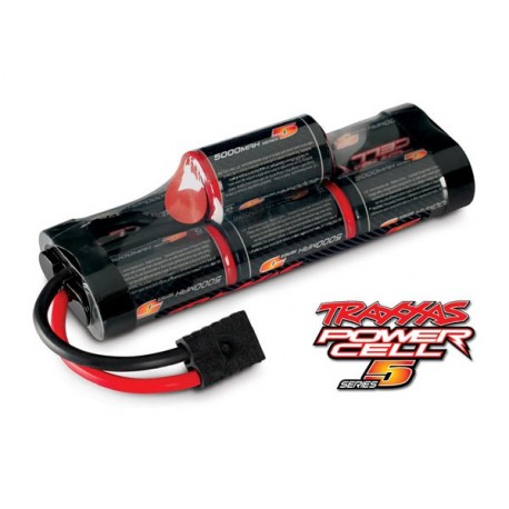 Traxxas 2961 Battery, Series 5 Power Cell, 5000mAh (NiMH, 7-C hump, 8.4V)