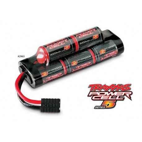 Traxxas 2963 Battery, Series 5 Power Cell, 5000mAh (NiMH, 8-C hump, 9.6V)