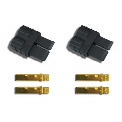Traxxas 3070 Traxxas Connector (male) (2 pieces) - traxxas stik