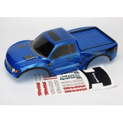 Traxxas 5814A Body, Ford Raptor®, blue (painted, decals applied)