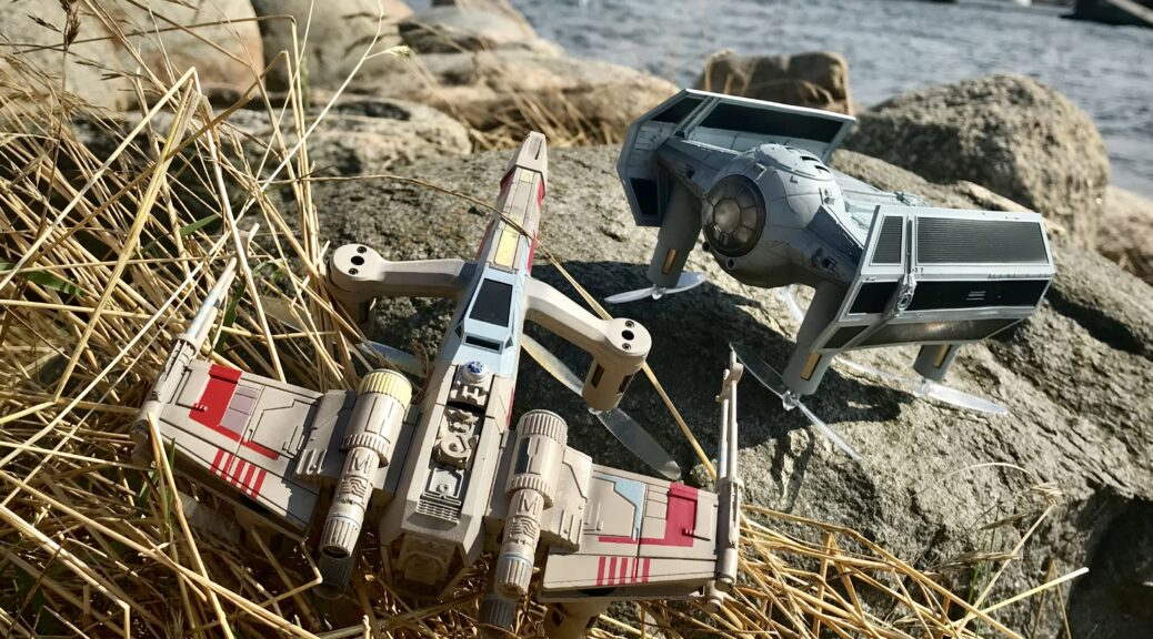 star wars droner fjernstyret