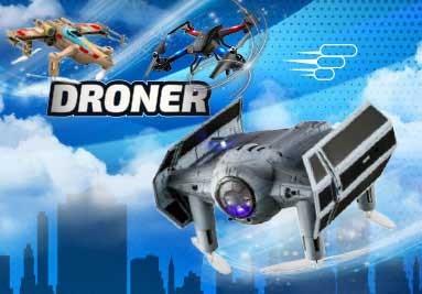 Fjernstyret drone